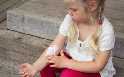 Atopic dermatitis or eczema in children