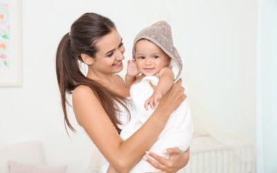 Moisturize baby's skin well