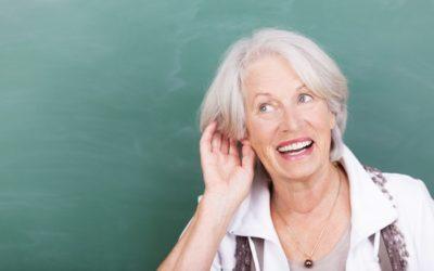 Eine frühzeitige Behandlung der Taubheit vermeidet kognitive Störungen, die zu Demenz führen können