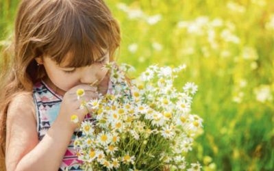 Here's how to help your child through the pollen season